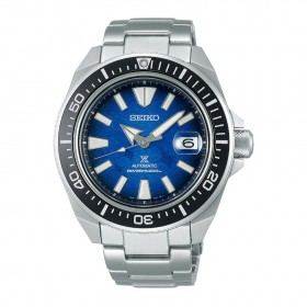 Мъжки часовник Seiko Prospex Save The Ocean Manta Ray Samurai Diver's Automatic - SRPE33K1