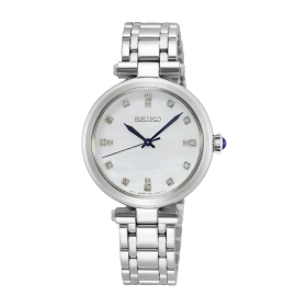 Дамски часовник Seiko Caprice Lady Diamond Accent - SRZ529P1