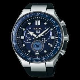 Мъжки часовник Seiko ASTRON GPS SOLAR DUAL TIME - SSE167J1
