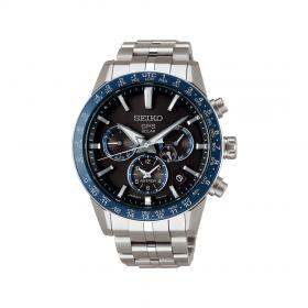 Мъжки часовник Seiko ASTRON GPS SOLAR DUAL TIME - SSH001J1