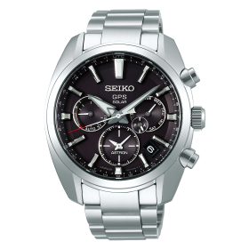 Мъжки часовник Seiko ASTRON GPS SOLAR DUAL TIME - SSH021J1