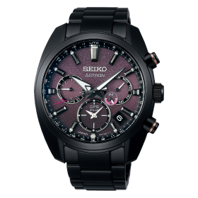 Мъжки часовник Seiko Astron GPS Solar 140th Anniversary Limited Edition - SSH083J1