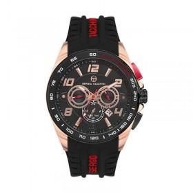 Мъжки часовник Sergio Tacchini Heritech Dual Time - ST.1.141.03