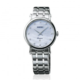 Дамски часовник Seiko Premier Classic - SXB433P1