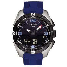Мъжки часовник Tissot T-Touch Expert Solar Ice Hockey - T091.420.47.057.02