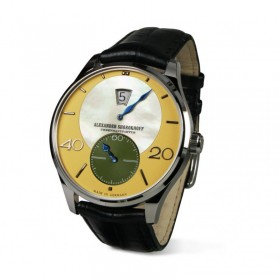 Мъжки часовник Alexander Shorokhoff CROSSING AUTOMATIC LIMITED EDITION 25 PIECES - AS.JH01-2