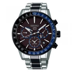 Мъжки часовник Seiko ASTRON GPS SOLAR DUAL TIME - SSH009J1