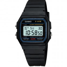 Мъжки часовник Casio Collection - F-91W-1D