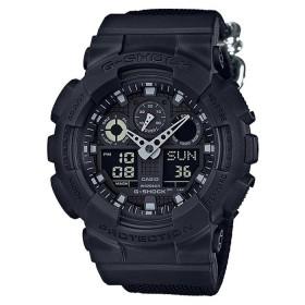 Мъжки часовник Casio - G-Shock GA-100BBN-1AER