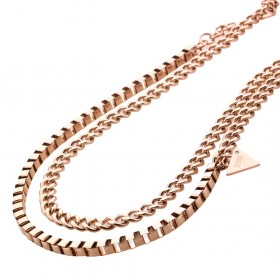 Дамско колие STORM ZULU NECKLACE ROSE GOLD - 9980641RG