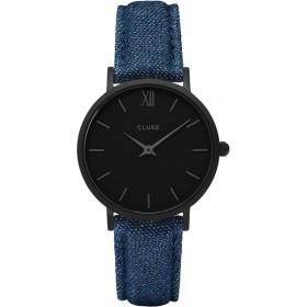 Дамски часовник Cluse Minuit Full Black - CL30031